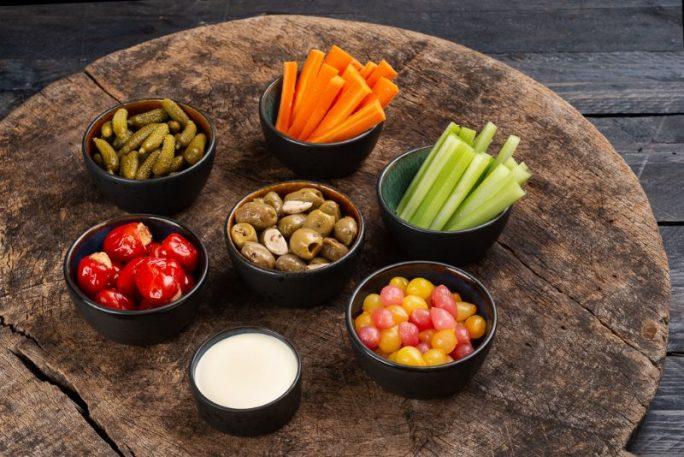 Tapas grande - grønnsaksfat